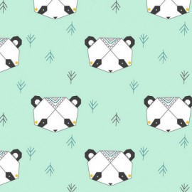 Tela Katia Origami Panda