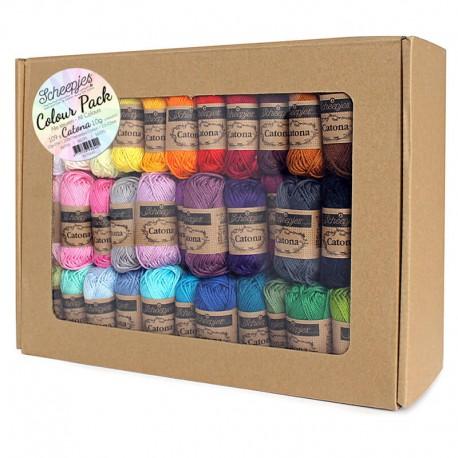 Scheepjes Catona - Colour Pack