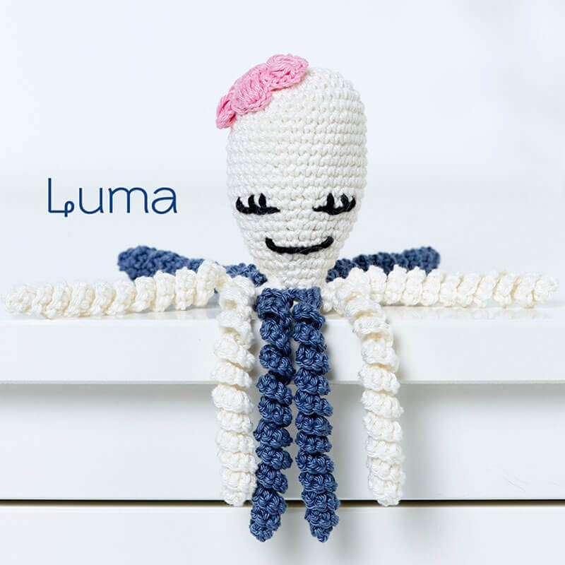 Kit de Crochet Octopus Baby Collection – Anchor - Las Tijeras Mágicas