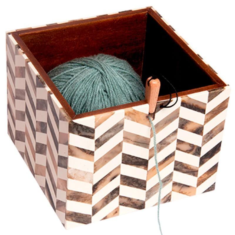 Caja para Lana  KnitPro Pearly