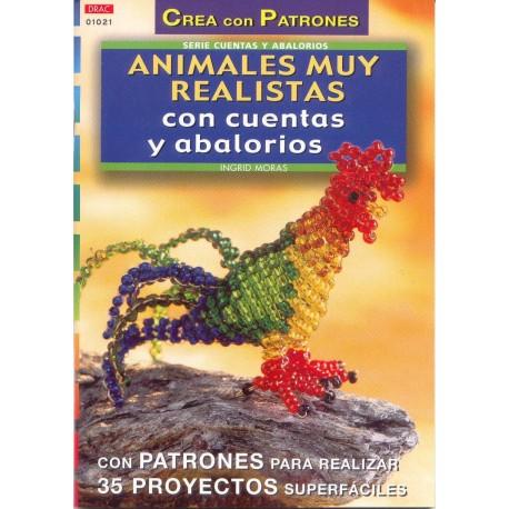 Animales muy realistas con cuentas y abalorios