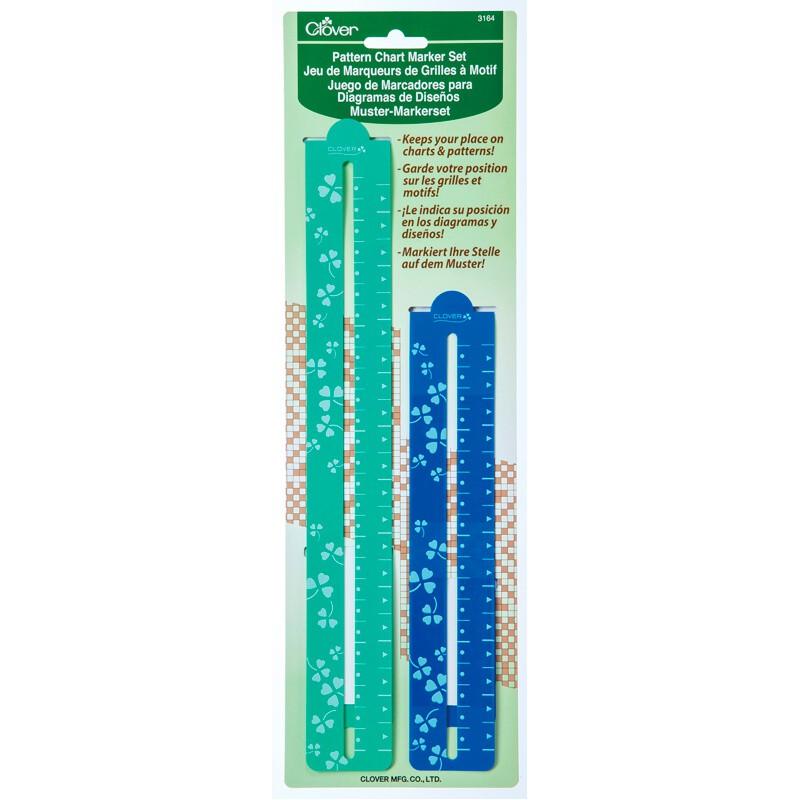 Juego de marcadores para patrones - Clover - Las Tijeras Mágicas