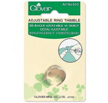 Clover Adjustable Ring Thimble