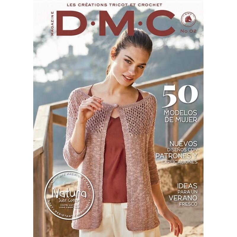 Revista DMC Nº 2 - Creaciones de Tricot y Crochet