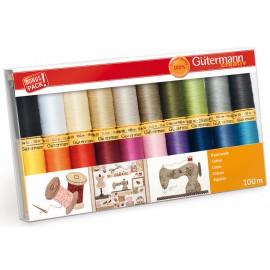 Gutermann Thread Cotton Set of 20 spools