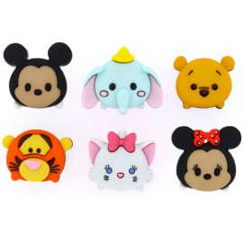 Botones Tsum Tsum -Dress It Up