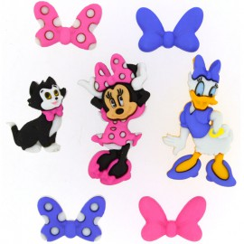 Botones Minnie Bowtique - Dress It Up