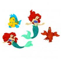 Botones The Little Mermaid - Dress It Up