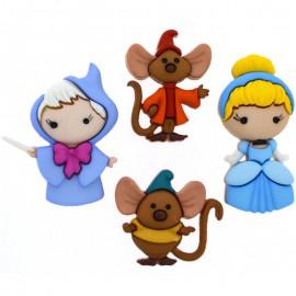 Botones Cinderella - Dress It Up