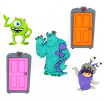 Botones Monsters INC - Dress It Up