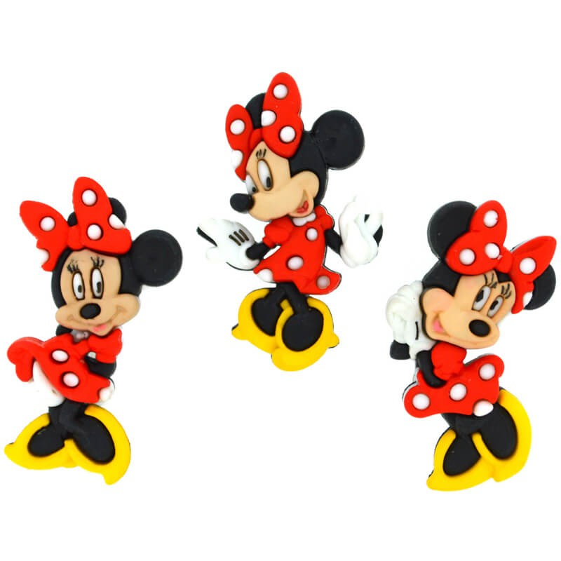 Botones Minnie Mouse - Dress It Up - Las Tijeras Mágicas