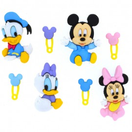 Botones Disney Babies - Dress It Up