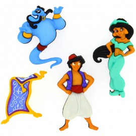 Botones Aladdin - Dress It Up