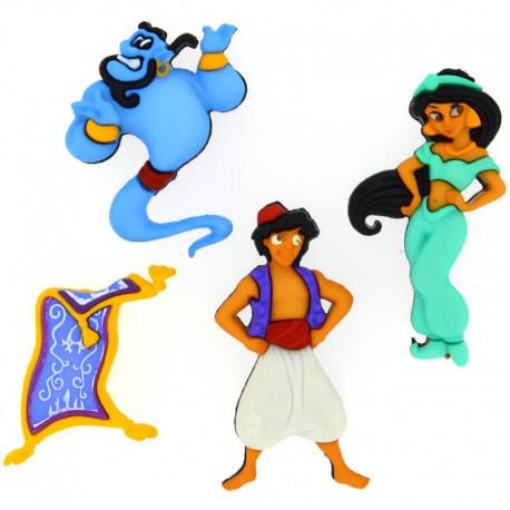 Botones Aladdin - Dress It Up