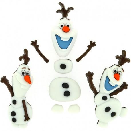Botones Frozen - Dress It Up