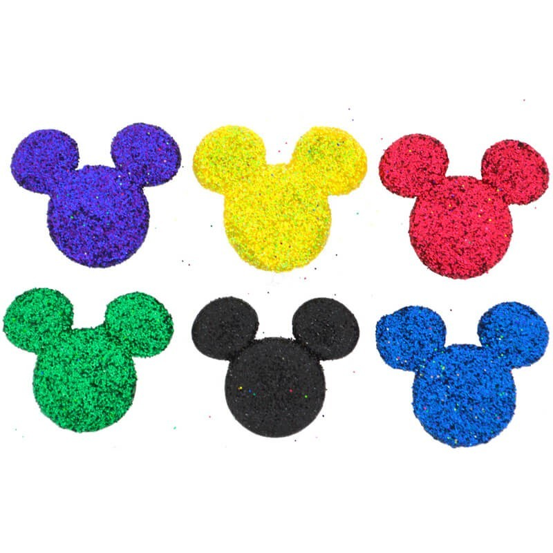 Botones Glitter Mickey - Dress It Up