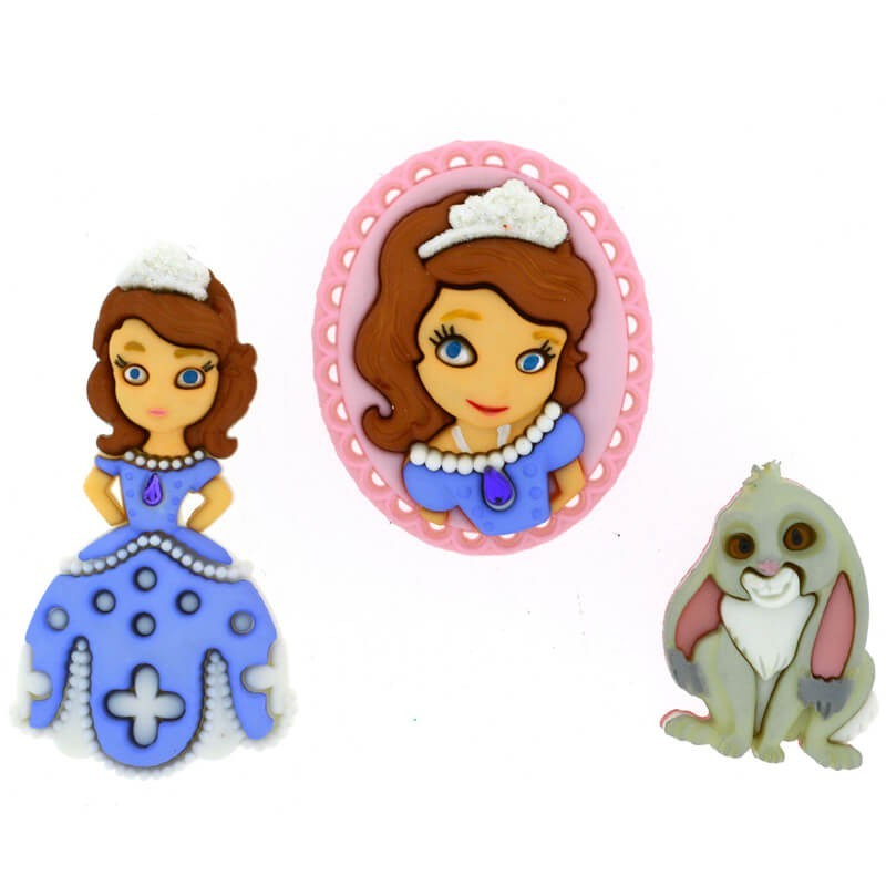 Botones Sofia The First - Dress It Up
