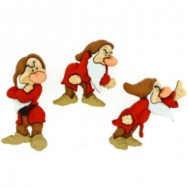 Botones Snow White - Dress It Up