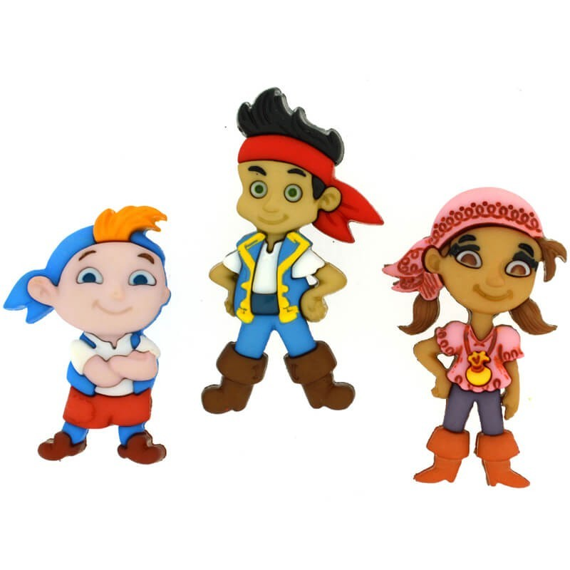 Botones Jake and the Neverland Pirates - Dress It Up