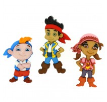 Botones Jake and the Neverland Pirates - Dress It Up
