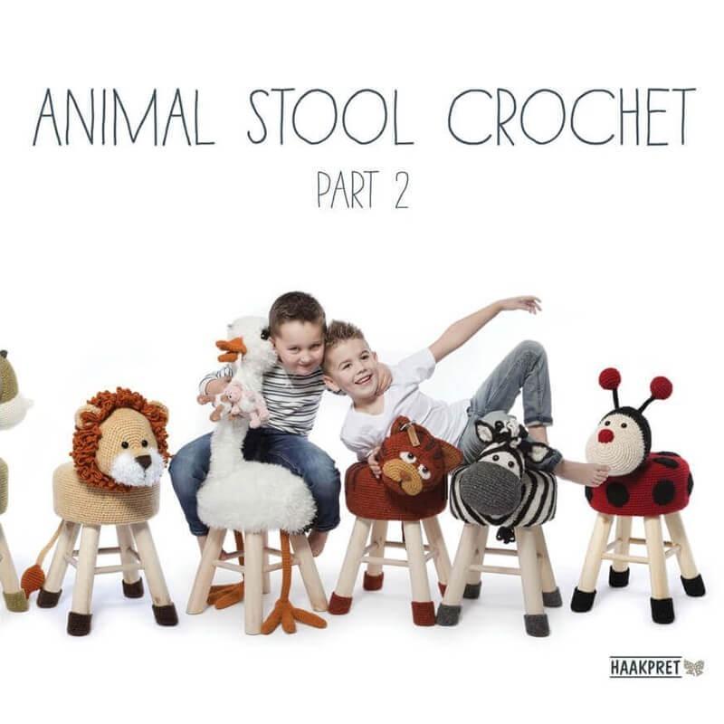 Animal Stool Crochet - Part 2