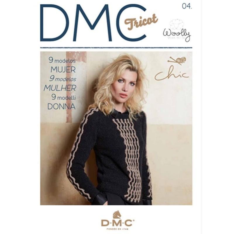 Revista DMC Nº 4 Woolly Natural Knitting Chic - 2017