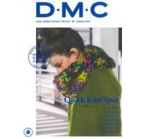 Revista DMC - Creaciones de Tricot y Crochet - Quick Knit Spot - 2018