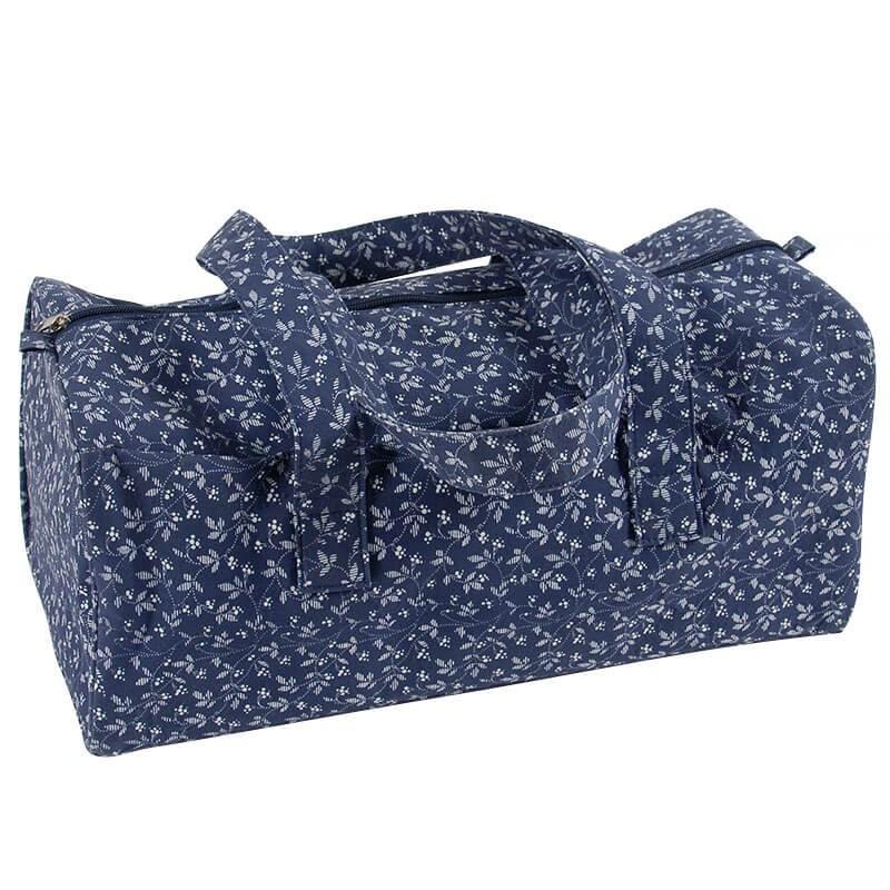 Bolsa de Labores DMC - Fleurs Bleues