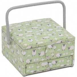 Sewing Box with drawer - Sheep