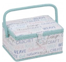 Medium Sewing Box - Haby Words