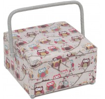 Sewing Box with drawer - Hoot