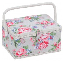 Medium Sewing Box – Rose