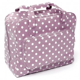 Sewing machine bag – Mauve Spot