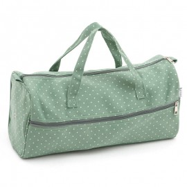 Bolsa de Labores - Mini Moss Polka Dot