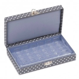 Estuche para Canillas - Mini Grey Spot