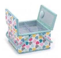 Double Lid  Sewing Box – Love
