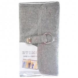 Crochet Hook Case Tulip Etimo Grey
