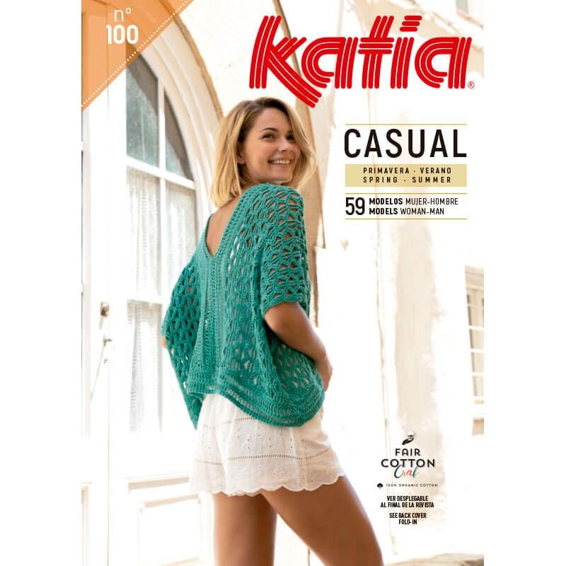 46e7963328d Revista Katia Casual Nº 100 - 2019 - Las Tijeras Mágicas