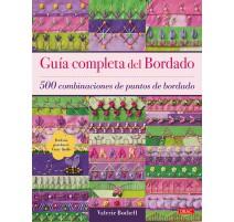 Guía completa del Bordado. 500 combinaciones de puntos de bordado