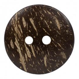Botón de Coco Circular