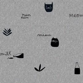 Tela Katia Milk Meow Melange