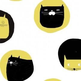 Tela Katia Fluor Cat`s Meow