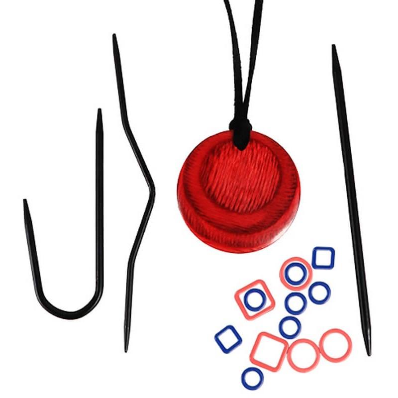 Collar Magnetico con Accesorios para Tejedoras - KnitPro