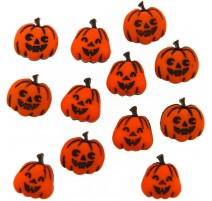 Botones Jack O'Lanterns - Dress It Up