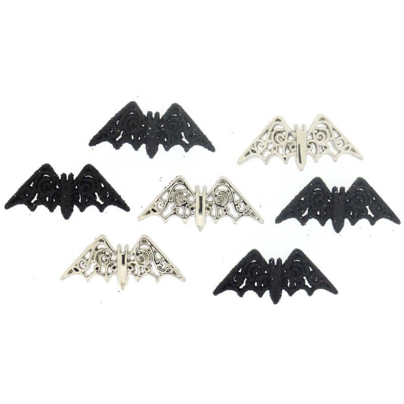 Botones Bewitching Bats - Dress It Up