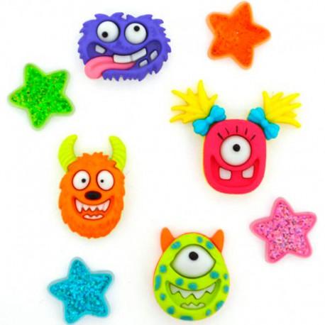 Botones Monster Mash - Dress It Up