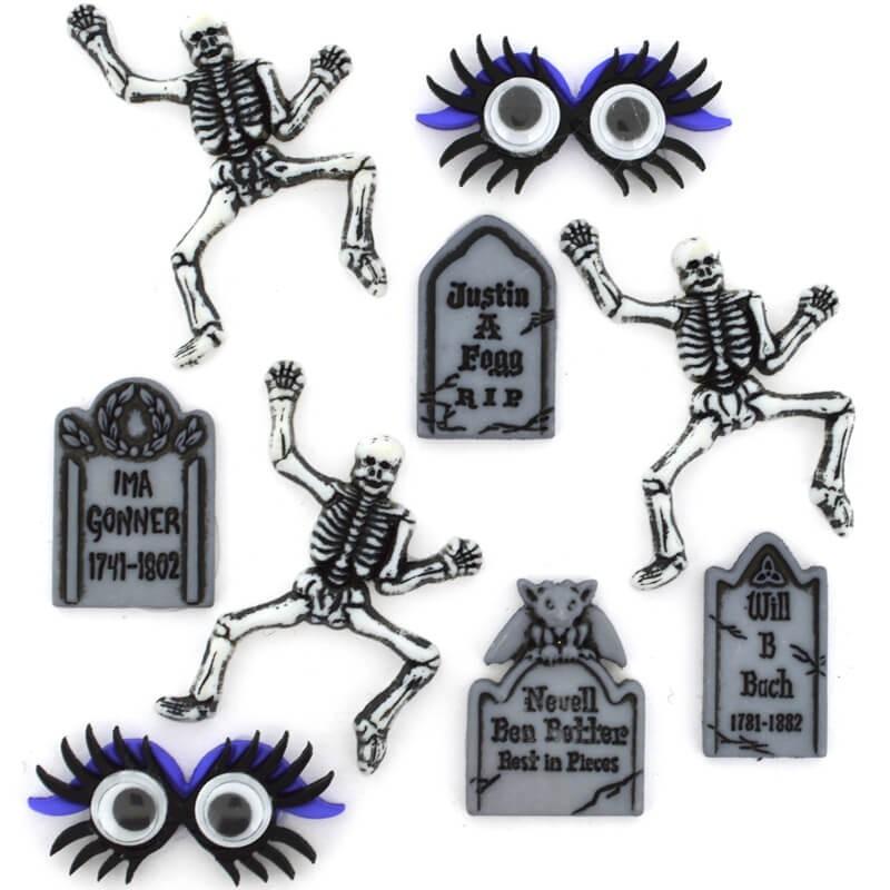Botones Graveyard Boogie - Dress It Up