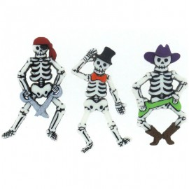 Botones Bone-ified Characters - Dress It Up