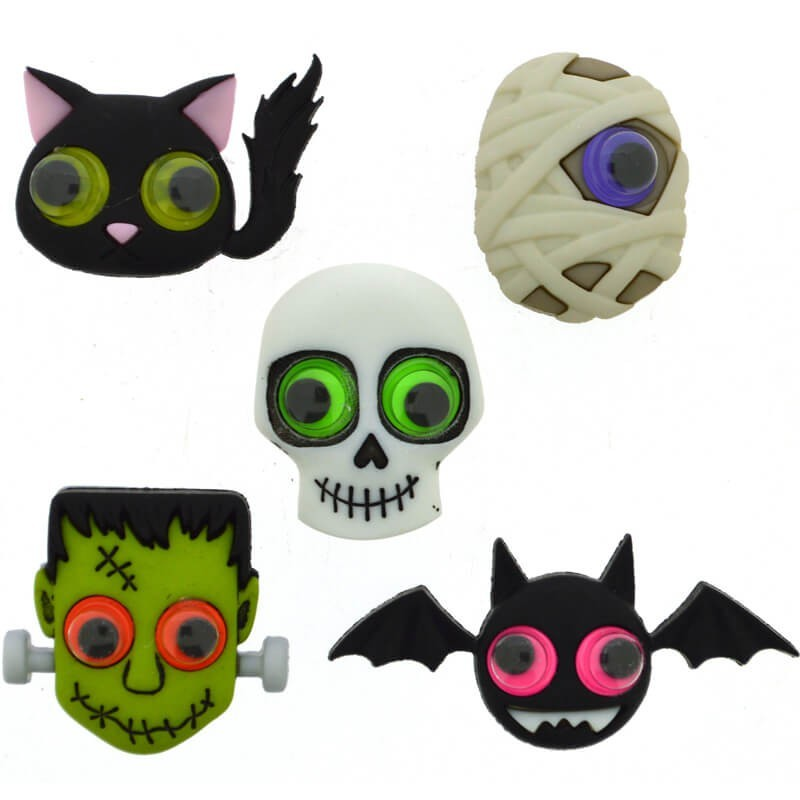 Botones Jeepers Peepers - Dress It Up