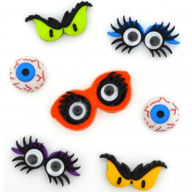 Botones Monster Eyes - Dress It Up